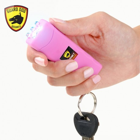 Hornet Keychain Stun Gun 6,000,000 with LED Flashlight Pink