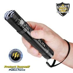 Streetwise Police Force 8,500,000 Tactical Stun Flashlight Available in Black or Gun Metal