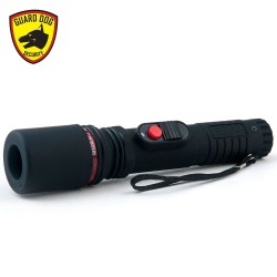 Guard Dog Security 6000000-volt Flashlight Stun Gun with 4 Prongs and 2 Sparks