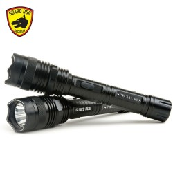 Guard Dog Security Special Ops 380 Lumen Tactical Flashlight with 8000000 volt Stun Gun