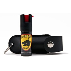 Guard Dog Security 18-Percentage Oleoresin Capsicum Pepper Spray with Keychain Holster, 1/2-Ounce