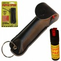 Black Colored Cheetah Pepper Spray
